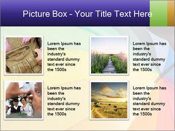 Rainbow-colored umbrella PowerPoint Templates - Slide 14
