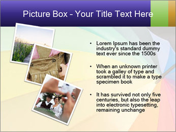 Rainbow-colored umbrella PowerPoint Templates - Slide 17