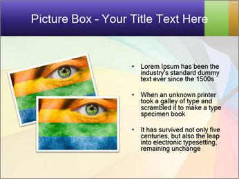Rainbow-colored umbrella PowerPoint Templates - Slide 20