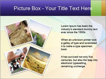 Rainbow-colored umbrella PowerPoint Templates - Slide 23