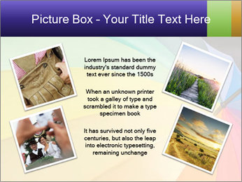 Rainbow-colored umbrella PowerPoint Templates - Slide 24