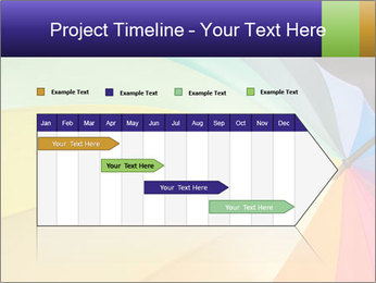 Rainbow-colored umbrella PowerPoint Templates - Slide 25