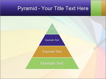 Rainbow-colored umbrella PowerPoint Templates - Slide 30