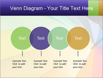 Rainbow-colored umbrella PowerPoint Templates - Slide 32