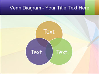 Rainbow-colored umbrella PowerPoint Templates - Slide 33