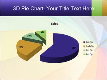 Rainbow-colored umbrella PowerPoint Templates - Slide 35