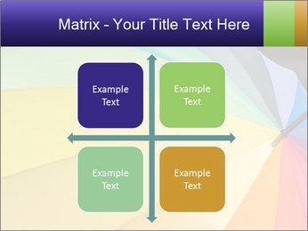 Rainbow-colored umbrella PowerPoint Templates - Slide 37