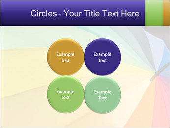 Rainbow-colored umbrella PowerPoint Templates - Slide 38