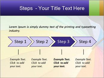 Rainbow-colored umbrella PowerPoint Templates - Slide 4