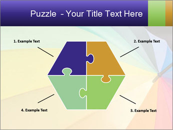 Rainbow-colored umbrella PowerPoint Templates - Slide 40