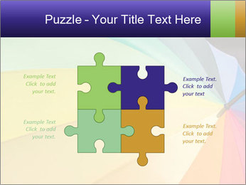 Rainbow-colored umbrella PowerPoint Templates - Slide 43