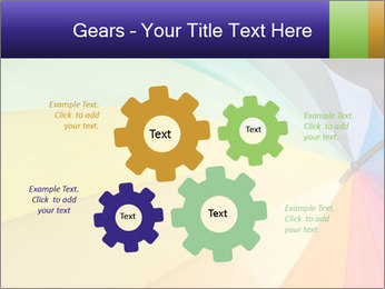 Rainbow-colored umbrella PowerPoint Templates - Slide 47