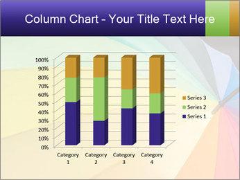 Rainbow-colored umbrella PowerPoint Templates - Slide 50