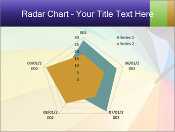 Rainbow-colored umbrella PowerPoint Templates - Slide 51