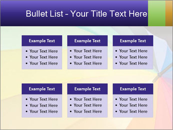 Rainbow-colored umbrella PowerPoint Templates - Slide 56