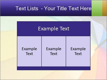 Rainbow-colored umbrella PowerPoint Templates - Slide 59