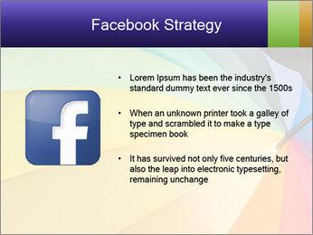 Rainbow-colored umbrella PowerPoint Templates - Slide 6