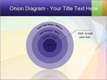 Rainbow-colored umbrella PowerPoint Templates - Slide 61