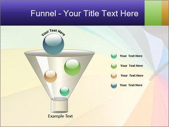 Rainbow-colored umbrella PowerPoint Templates - Slide 63