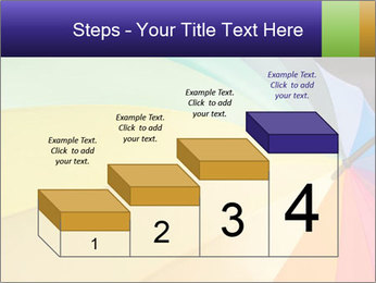 Rainbow-colored umbrella PowerPoint Templates - Slide 64