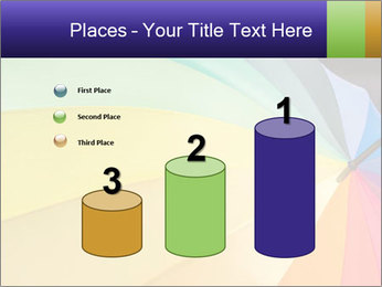 Rainbow-colored umbrella PowerPoint Templates - Slide 65
