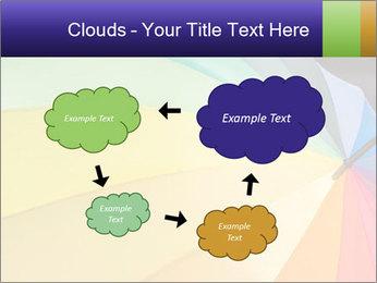Rainbow-colored umbrella PowerPoint Templates - Slide 72