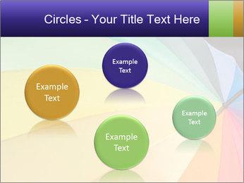 Rainbow-colored umbrella PowerPoint Templates - Slide 77