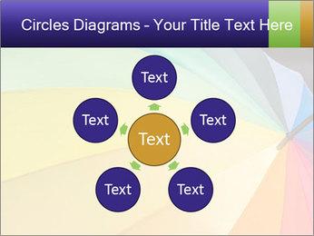 Rainbow-colored umbrella PowerPoint Templates - Slide 78