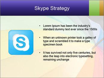 Rainbow-colored umbrella PowerPoint Templates - Slide 8