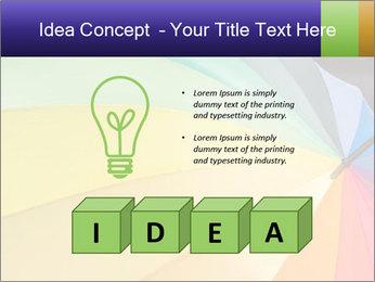 Rainbow-colored umbrella PowerPoint Templates - Slide 80