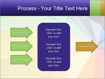 Rainbow-colored umbrella PowerPoint Templates - Slide 85