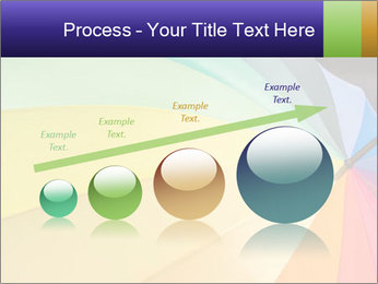 Rainbow-colored umbrella PowerPoint Templates - Slide 87