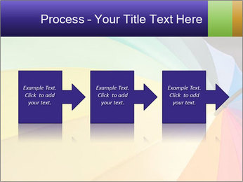 Rainbow-colored umbrella PowerPoint Templates - Slide 88