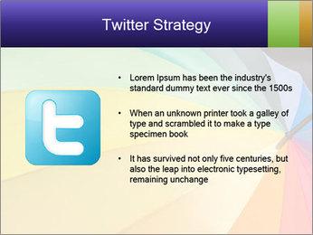 Rainbow-colored umbrella PowerPoint Templates - Slide 9