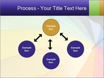 Rainbow-colored umbrella PowerPoint Templates - Slide 91