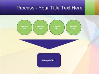 Rainbow-colored umbrella PowerPoint Templates - Slide 93