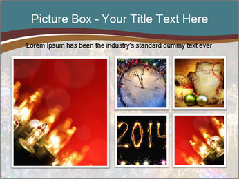 Christmas lights PowerPoint Template - Slide 19