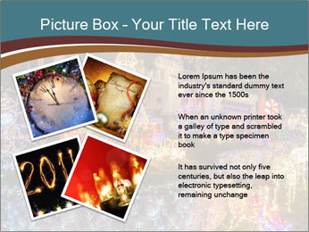 Christmas lights PowerPoint Template - Slide 23