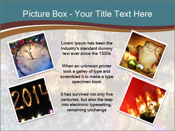 Christmas lights PowerPoint Template - Slide 24