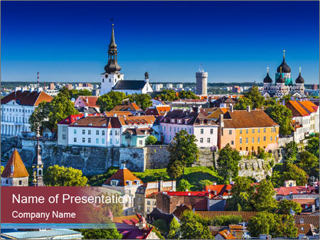Tallinn PowerPoint Template
