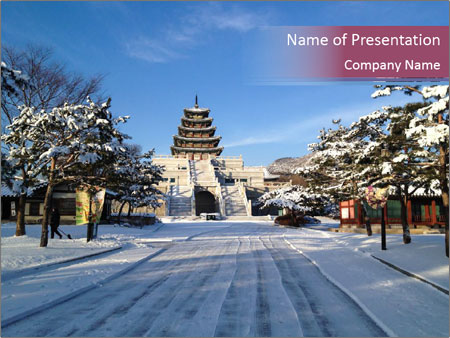 National Folk Museum of Korea PowerPoint Templates
