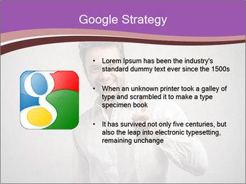 Handsome man PowerPoint Templates - Slide 10