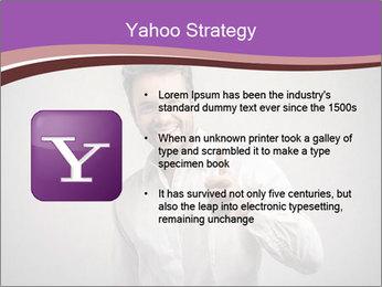 Handsome man PowerPoint Templates - Slide 11