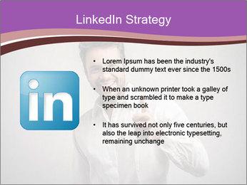Handsome man PowerPoint Templates - Slide 12