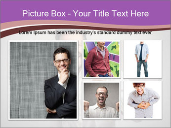 Handsome man PowerPoint Templates - Slide 19