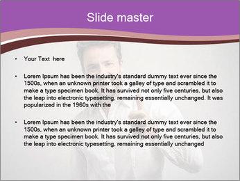 Handsome man PowerPoint Templates - Slide 2