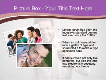 Handsome man PowerPoint Templates - Slide 20