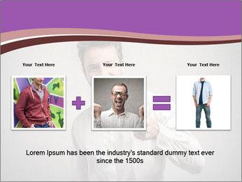 Handsome man PowerPoint Templates - Slide 22