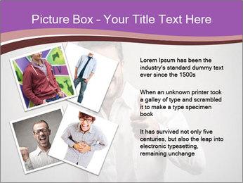 Handsome man PowerPoint Templates - Slide 23