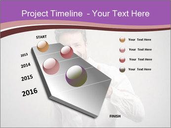 Handsome man PowerPoint Templates - Slide 26